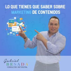 Lo que tienes que saber sobre marketing de contenidos