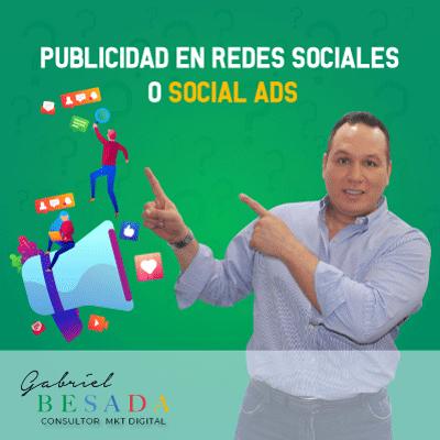 Publicidad en Redes sociales o social ads