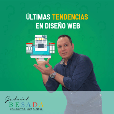 Ultimas tendencias en diseño web