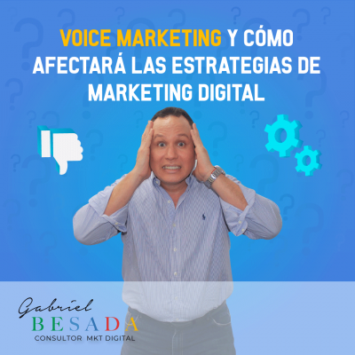 Voice Marketing y como afectara las estrategias de marketing digital